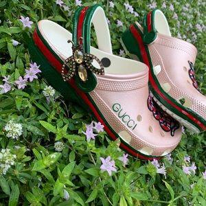 Custom Gucci Crocs